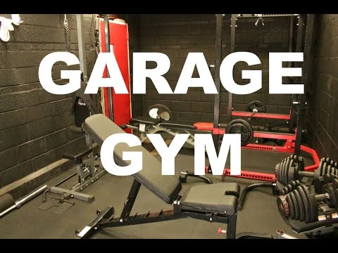 NEW GARAGE GYM : Before And After HOME GYM. Never Seen Runaway