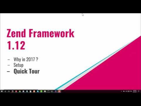 Zend Framework 1 - Why / Setup / Quick Tour [EP01][DARIJA]