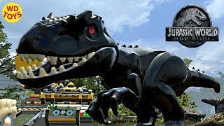 Jurassic World Lego Game Indoraptor Hybrid Indominus Rex Custom Dino  Creator WD Toys Fallen Kingdom - getplaypk