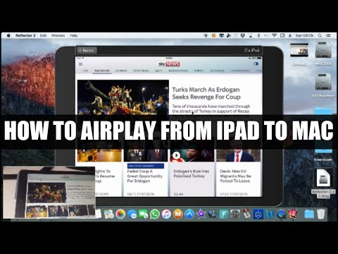 How to AirPlay on iPad/iPhone to Mac, without Apple TV