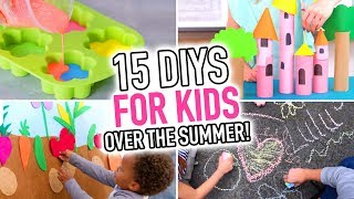 Download 15 DIYs for Kids Who Are Bored Over the Summer - HGTV Handmade Video