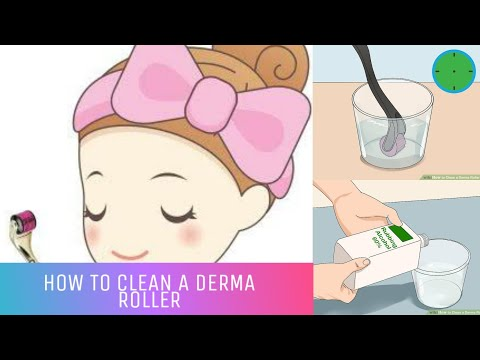 How to clean a derma roller (Hindi Version)