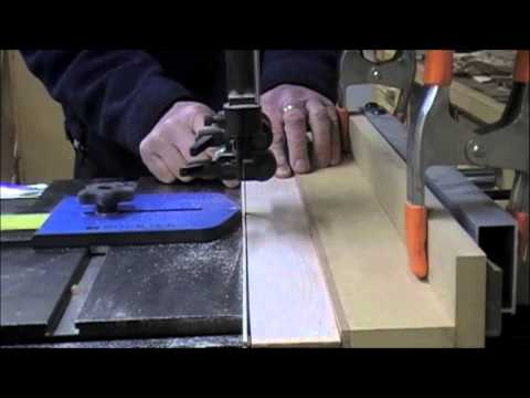 Woodworking : Band Saw - L Shaped Rip Fence
