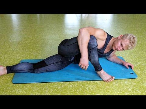 Lower Body Flexibility Routine (BEGINNER)