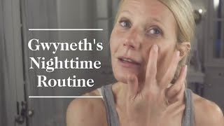 Download Gwyneth Paltrow's Nighttime Skincare Routine | goop Video