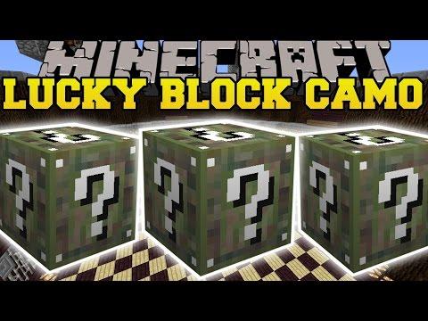 Minecraft: CAMO LUCKY BLOCK MOD (CRAZIEST BLOCKS IN THE WORLD!) Mod Showcase