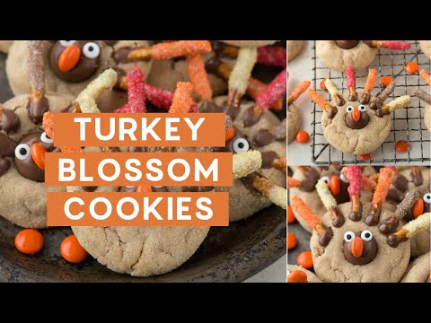 Turkey Blossom Cookies