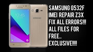 Samsung G532G/F Imei Rrpair Solution Emergency Call No