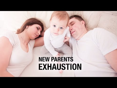 New Parents Exhaustion