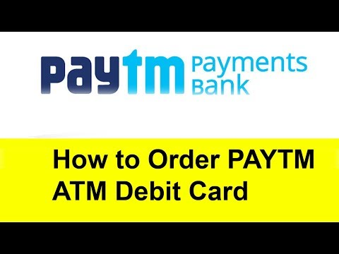 How to Order Paytm Debit Card | Tamil Banking