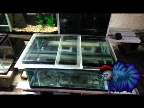 How To Build A Glass Lid For Aquarium For Free