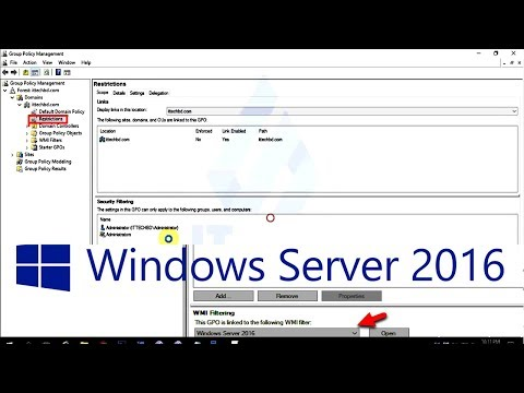 How to restriction filtering in windows server 2016 - 26