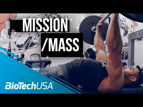 Exercises for Bulking - Mission Mass with Justin St. Paul - BioTechUSA