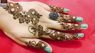Circular Mehndi Designs For Hands | Arabic Gol Tikka With Floral Leaf Mehendi DIY(1000+ Designs)