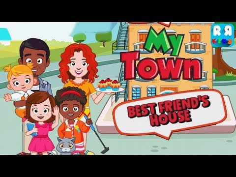 My Town : Best Friend's House (By My Town Games LTD) - New Best App for Kids iPad Gameplay