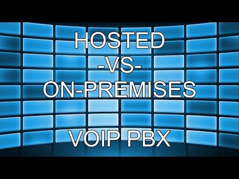 On-Premises vs Hosted VOIP