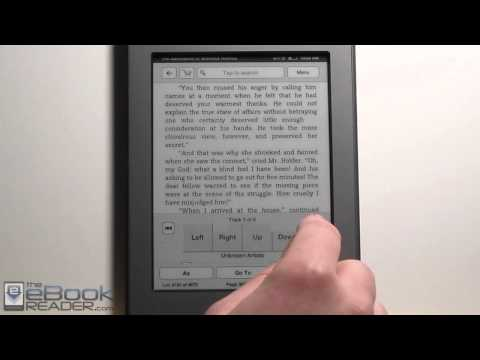 Kindle Touch Landscape Mode Trick