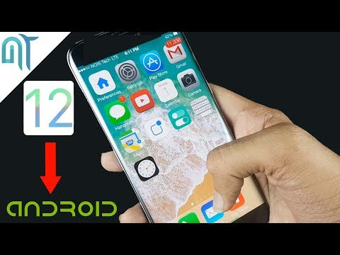 Install iOS 12 On Any Android Phone(No Root) | How To Make Android Look Like iOS 12! (Free - 2018)