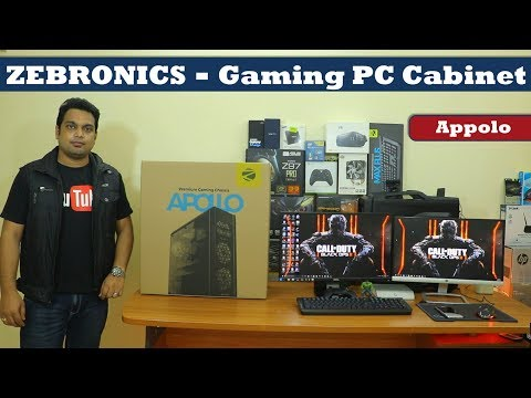 Zebronics Gaming PC - Cabinet (Chassis) | Low cost - Mid Tower ATX - 2018