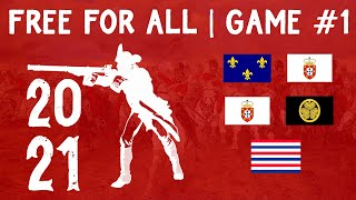 FREE FOR ALL GAME #1   2021 FFA Tourney   Age of Empires III
