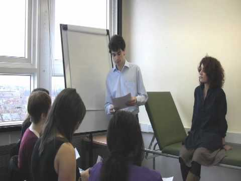 Challenging behaviours in small group teaching (Scenario 1)