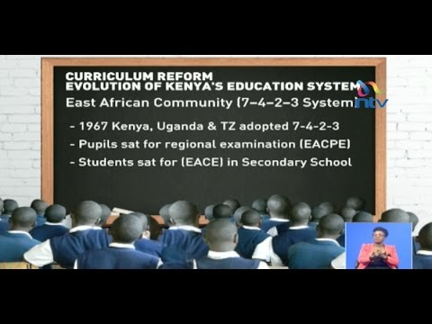 The new education system replacing 8-4-4 to improve learning
