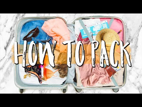 TRAVEL TIPS: Packing Hacks, Tips & Essentials