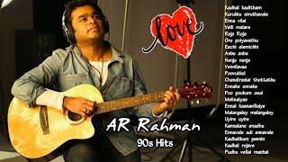 AR Rahman Hits /90s Hits/Love Hits /Tamil songs hits/ PART 2