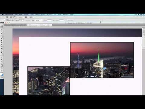 OSX: Tutorial - A single Wallpaper across multiple Displays