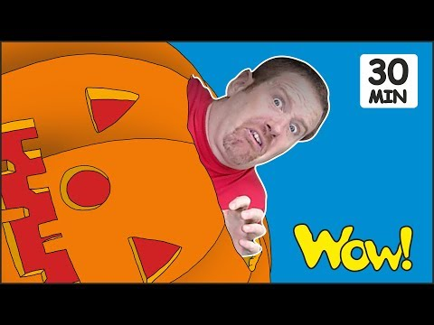 Halloween Stories for Kids from Steve and Maggie | Songs and Rhymes for Children by Wow English TV