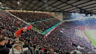 5,800 Derby Fans At Old Trafford!!!