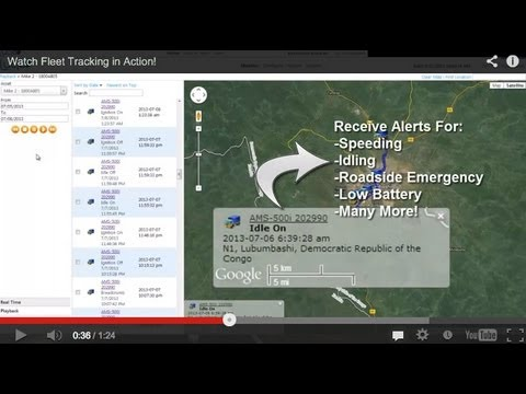 Watch Fleet Tracking in Action!
