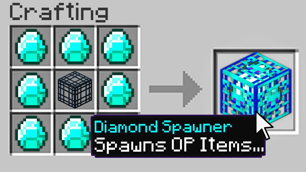 Minecraft, But There Are Custom Spawners..
