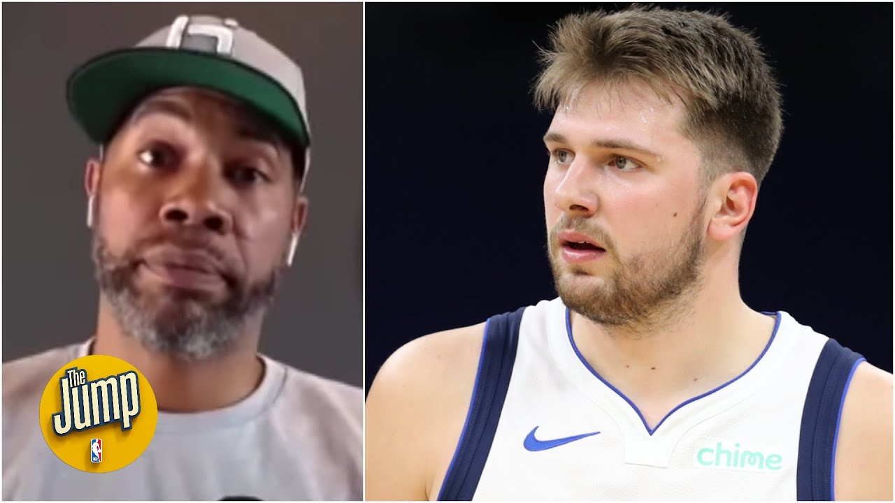 Rasheed Wallace reacts to Luka Doncic's ejection for hitting Collin Sexton | The Jump