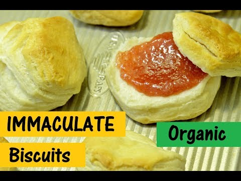 IMMACULATE ORGANIC FLAKY BISCUITS