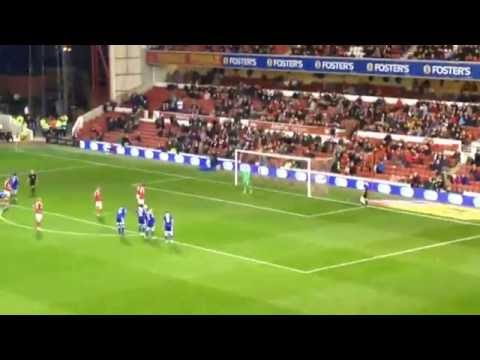 Nottingham Forest vs Cardiff City (penalty)!!