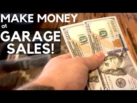 How to MAKE MONEY at Garage Sales | Selling on eBay & Amazon | Reselling Business | Ralli Roots
