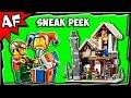 Lego City Winter Toy Shop 10249 Sneak Peek Official Images A