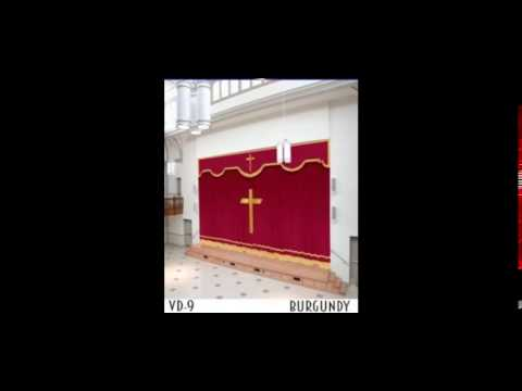 Velvet Curtains For Home Theater & Church Stage