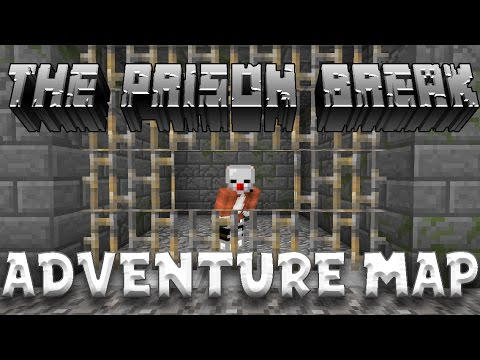 HELPING MY BROTHER OUT OF PRISON! | The Prison Break | Adventure Map! | MCPE Map