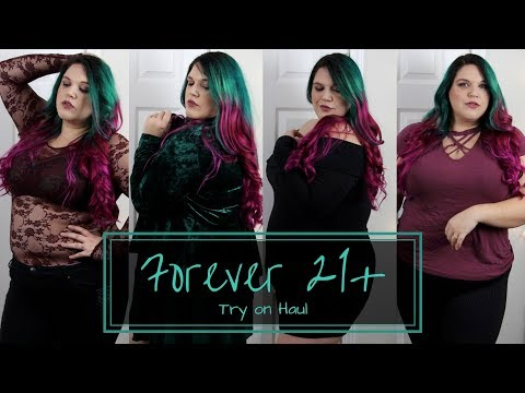Forever 21+ | Plus Size Fashion Try On Haul | Musings of a Fox