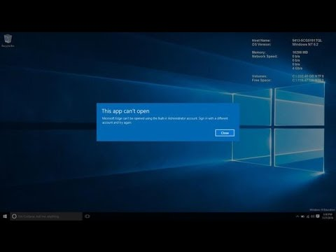 How to enable an Administrator to open Metro apps in Windows 10