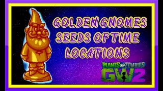Golden Gnomes Zen Peak! Plants vs Zombies Garden Warfare 2!
