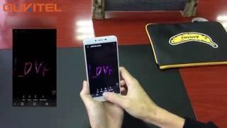 OUKITEL U15S new features- super screenshot & fingerprint functions