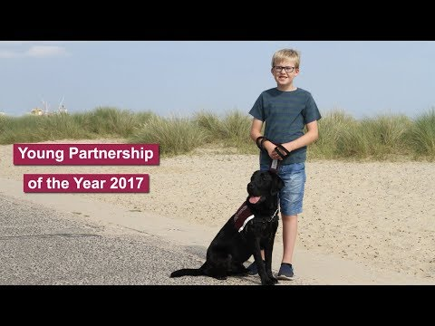 Hearing Dogs - Young Partnership of the Year 2017