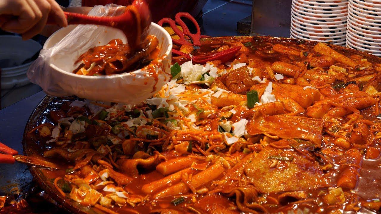 Best 9 부산, 대구, 영주! 경상도 떡볶이, 분식, 순대, 오뎅 몰아보기   Famous Tteokbokki Shop, Best 9   Korean Street food