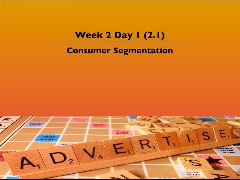 2.1 Consumer Segmentation