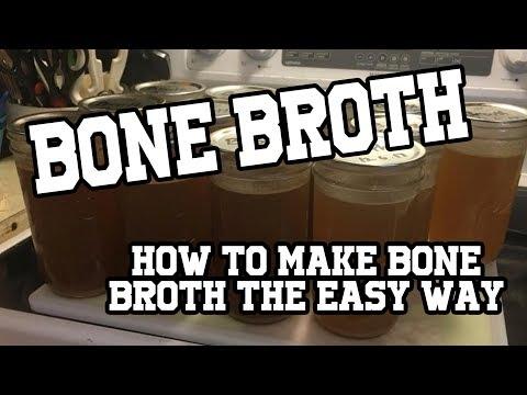 How to make bone broth from quail, chicken, turkey and ham  Recipes