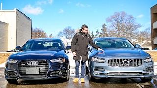 Luxury Sedan Fight!  