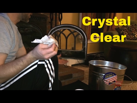 LIFE TIPS: Easy DIY Glass Cleaner for your Wood Stove: No Harsh Chemicals.